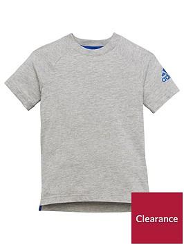 adidas-younger-boys-cotton-tee-medium-grey-heathernbsp