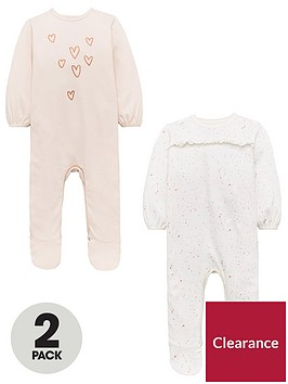 mini-v-by-very-baby-girls-2-pack-frill-sleepsuits