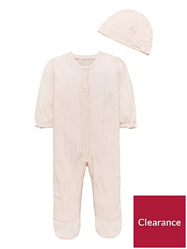 mini-v-by-very-baby-girls-pretty-pointelle-sleepsuit-amp-hat-set