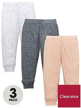 mini-v-by-very-baby-girls-3-pack-pointelle-rib-leggings