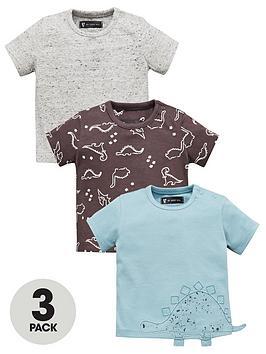 mini-v-by-very-baby-boys-3-pack-dinosaur-tees-short-sleeve