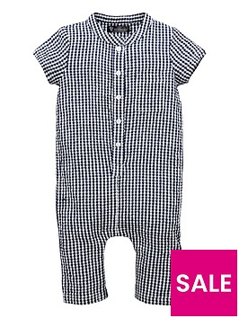 mini-v-by-very-baby-boy-crinkle-woven-check-grandad-romper
