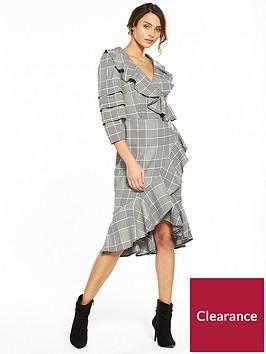 v-by-very-check-frill-wrap-dress