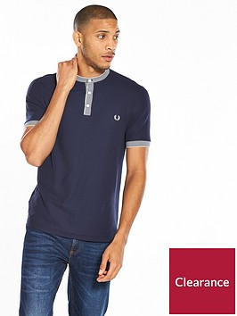 fred-perry-henley-collar-t-shirt