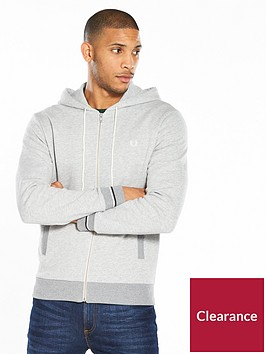 fred-perry-hooded-zip-through-sweat