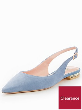 dune-london-brey-flat-point-slingback-pearl