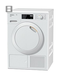 Miele TCE520WP 8kg Heat Pump Tumble Dryer with EcoDry Technology - White