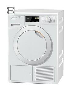 Miele TDD220 8kg Heat Pump Tumble Dryer with EcoDryTechnology - White