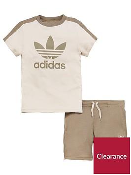 adidas-originals-younger-boys-set-browncreamnbsp