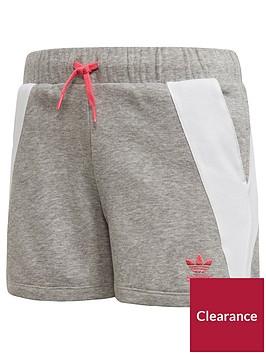 adidas-originals-girls-short-medium-grey-heathernbsp