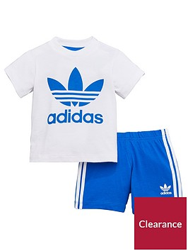 adidas-originals-baby-short-and-tee-set