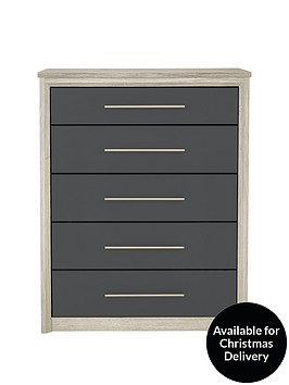 consort-jupiternbspready-assembled-jupiter-wide-5-drawer-chest