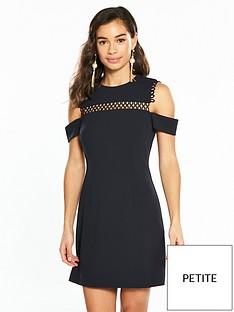 v-by-very-petite-trim-detail-woven-dress