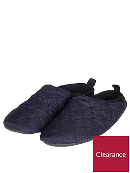 barbour-guthrie-quilted-slipper