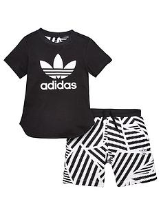 adidas-originals-younger-boys-graphic-short-set