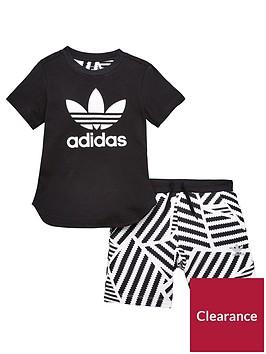 adidas-originals-younger-boys-graphic-short-set