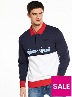 gio-goi-collared-rugby-top