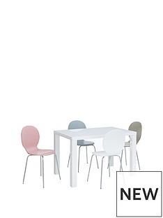 atlantic-120-cm-gloss-dining-table-4-roma-chairs
