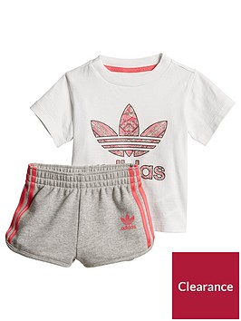 adidas-originals-baby-short-set-whitegreypinknbsp