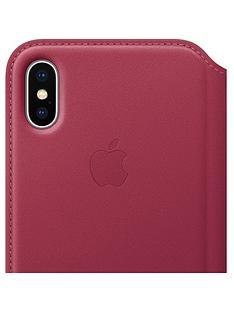 apple-iphone-x-leather-folio