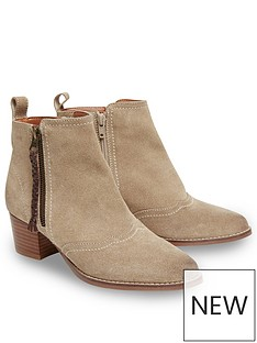 joe-browns-joe-browns-womens-suede-mid-heel-ankle-boots