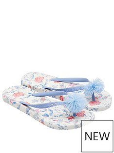 joules-moulded-white-sea-air-pom-pom-flip-flop