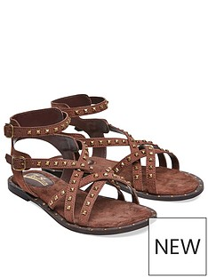 joe-browns-joe-browns-lazy-days-leather-studded-sandals
