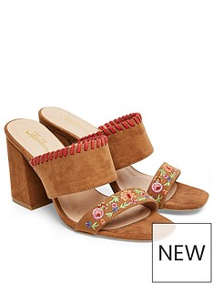 joe-browns-charismatic-embroidered-mule-heeled-sandal-tan