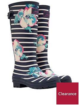 joules-printed-tall-adjustable-poppy-stripe-welly