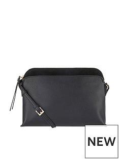accessorize-accessorize-tess-black-domed-leather-crossbody-bag