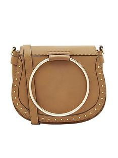accessorize-metal-ring-tan-saddle-bag