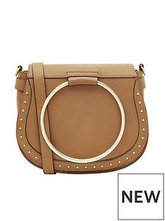 accessorize-metal-ring-tan-saddle-bag