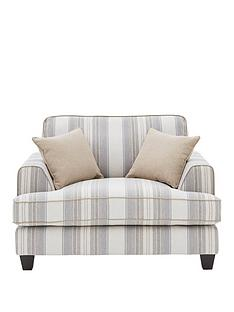ideal-home-harbour-fabric-cuddle-accent-chair
