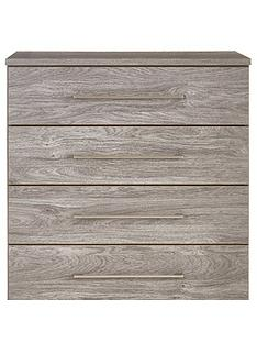 Consort Aura Ready Assembled 5 Drawer Wide Chest