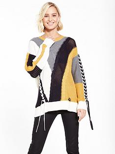 river-island-colourblock-ladder-jumper