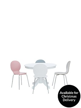 ace-107-cm-round-dining-table-4-roma-chairs