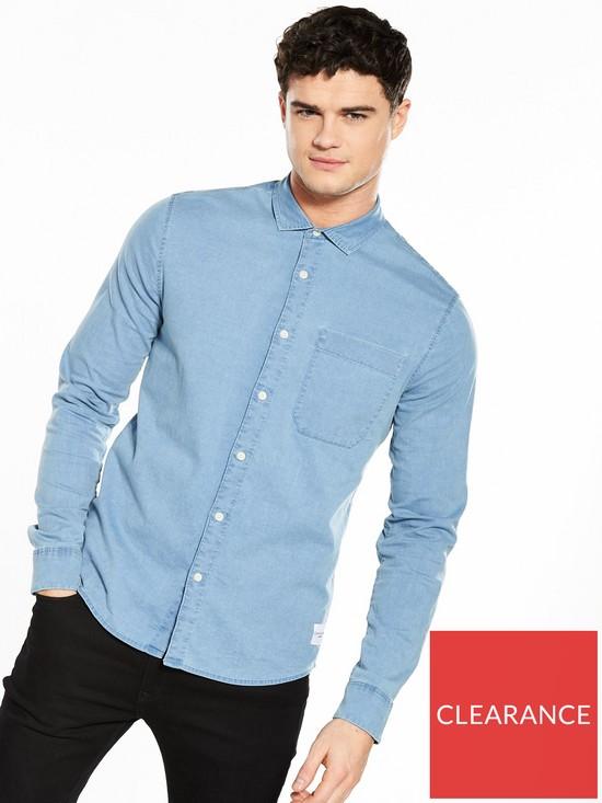 c0a7087a254 Calvin Klein Jeans Wilbens Slim Fit Denim Shirt