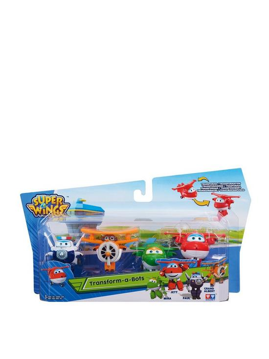 Super Wings Super Wings Transform-a-Bots - Jett f978aaa4d