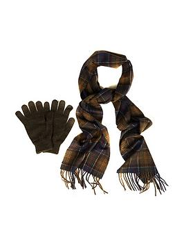 barbour-barbour-scarf-and-glove-gift-box-classicolive