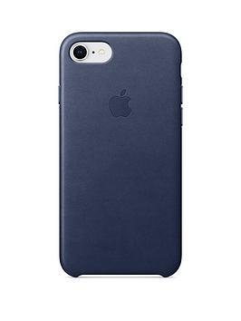 apple-iphone-8-7-leather-case-blue