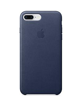 Compare prices with Phone Retailers Comaprison to buy a Apple Iphone 8 Plus / 7 Plus Leather Case - Blue