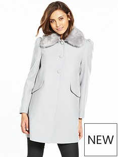 miss-selfridge-faux-fur-trim-dolly-coat