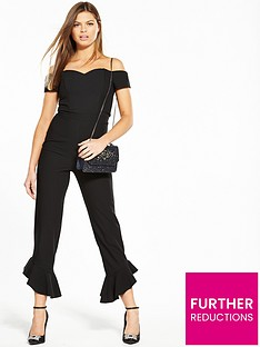 miss-selfridge-frill-hem-bardot-jumpsuit