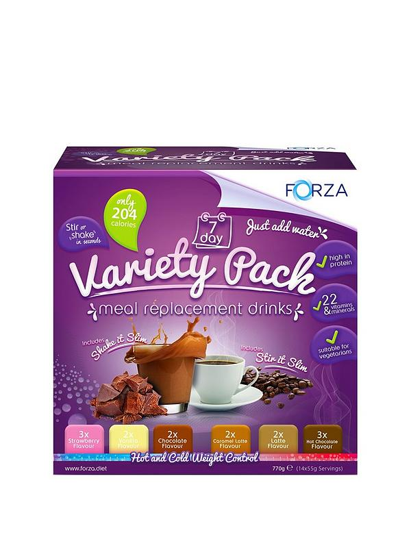Meal Replacement Variety Pack 7 Day Supply