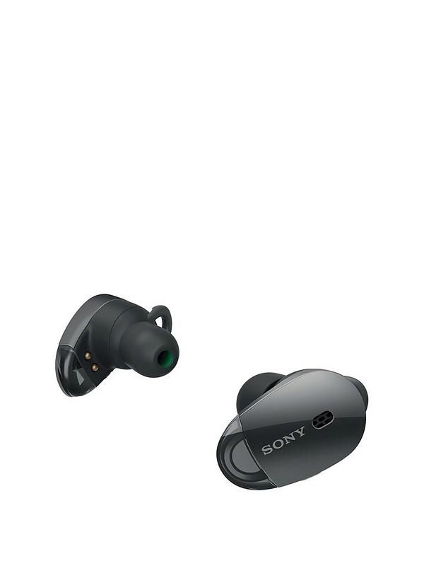 3a5d23dc63a Sony WF-1000X Truly Wireless In-Ear Noise Cancelling Headphones - Black