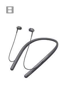 Sony WI-H700 h.ear Series Wireless In-Ear High Resolution Headphones with 8 Hours Battery Life - Black