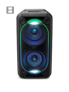 sony-gtk-xb90-high-power-one-box-music-system-with-built-in-battery-and-lighting-effects