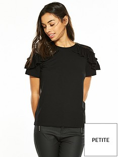 v-by-very-petite-lace-shoulder-ruffle-top