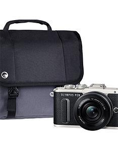 olympus-pen-e-pl8-black-camera-kit-inc-14-42mm-pancake-lens-32gb-sd-card-amp-case
