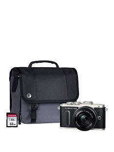 olympus-pen-e-pl8-black-camera-kit-inc-14-42mm-pancake-lens-32gb-sd-card-amp-case